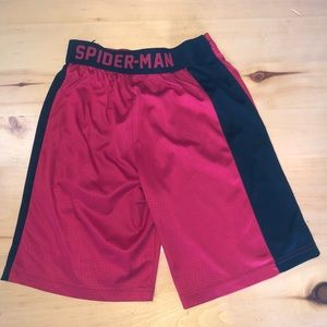 Boys Medium Spiderman Shorts